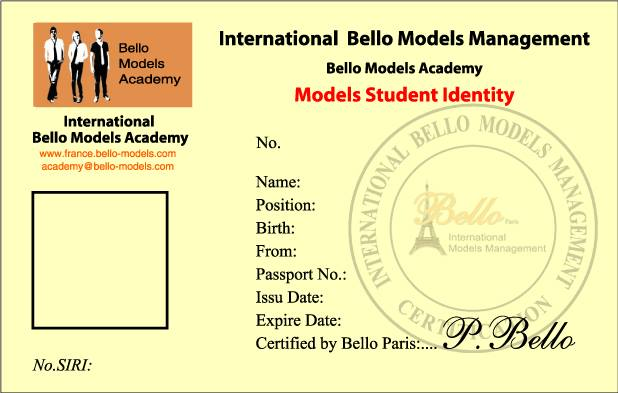 Bello Models Academy