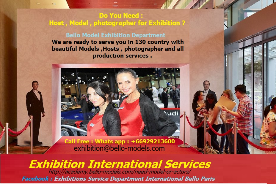 Exhibition services International Bello Models