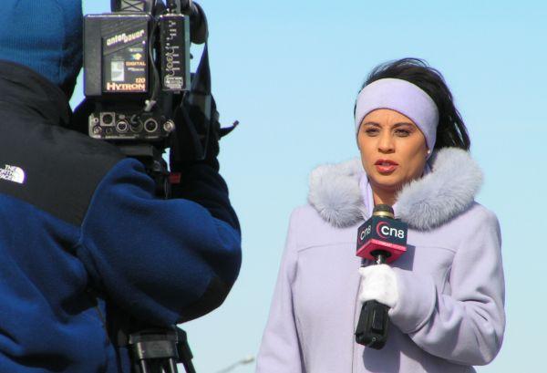 Television reporter