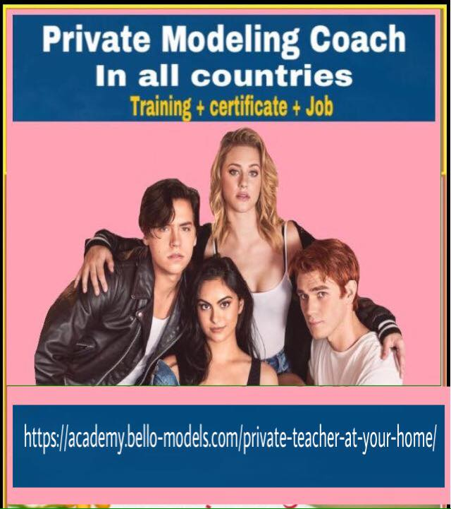 Private Modeling and acting Coach in 150 countries . provide by international Bello Models Management Paris https://academy.bello-models.com/private-teacher-at-your-home/